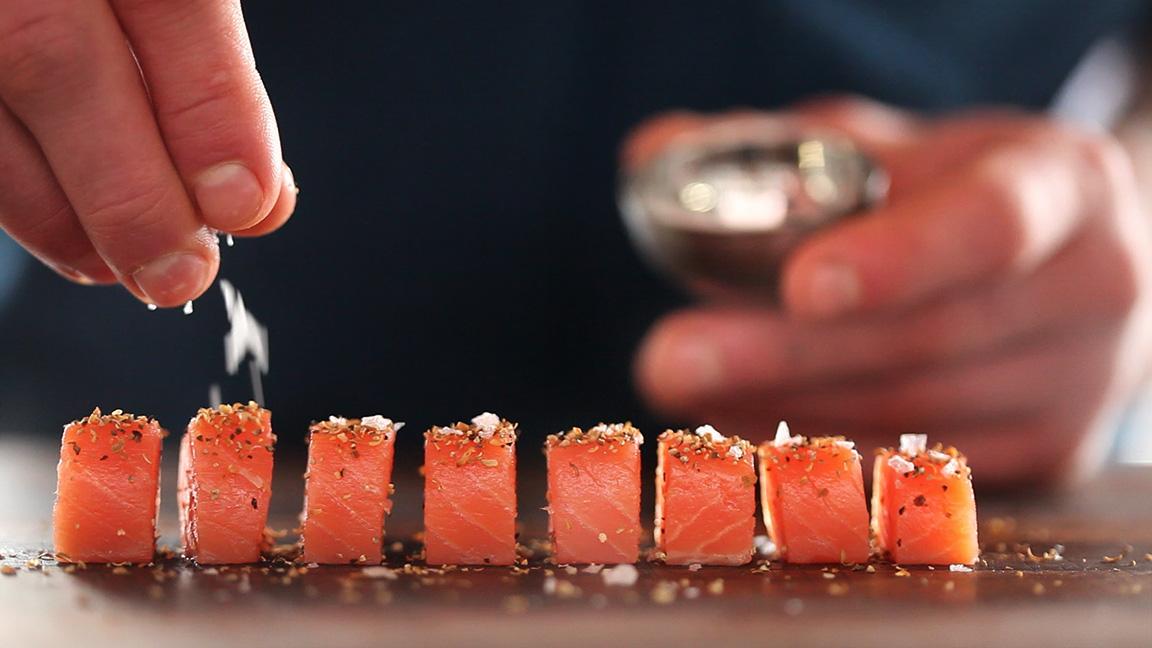 Salmon Bites ChefSteps