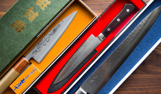 Japanese Knife Collection